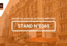 URETEK®, le spécialiste en restauration de structures par injection de résine expansive sera présent au Salon de la Copropriété 2021 qui se déroulera les 3 & 4 novembre à Paris Porte de Versailles. Rendez-vous sur le stand E065.